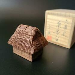 Tea Utensils Wood Carving Waste And Kogo Munehiro Co-box Woodworking Joints