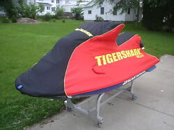 Tigershark Tsr Cover 1998 Black And Red New Oem