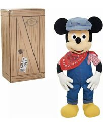 Disney Treasures From The Vault Engineer Mickey Mouse Giant 36 Limited Edition
