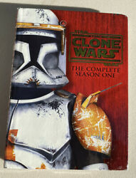 Star Wars The Clone Wars The Complete Season One Dvd 2009 4-disc Set 1 First