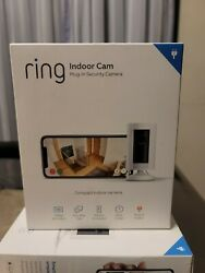 Ring Indoor Cam Plug-in Hd Security Camera With Two-way Talk - White
