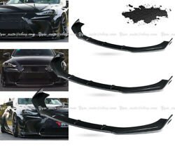 Carbon For Lexus Is250 Is300 Is350 F-sport Style Front Bumper Chin Lip Body Kits