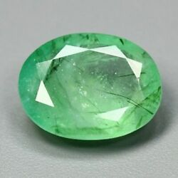 8.23 Cts 100 Natural Emerald Oval Shape Green Color Loose Gemstone
