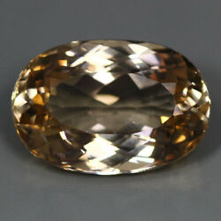 39.27 Cts Best Oval Unheated Brazil 100 Natural Topaz Loose Gemstone