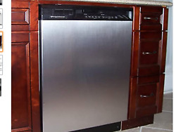 Appliance Art Instant Stainless Large Magnet Dishwasher Cover 23.5 W X 26 T