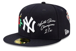 New Era 59FIFTY New York Yankees 27x World Series Champions Fitted Hat MLB Cap