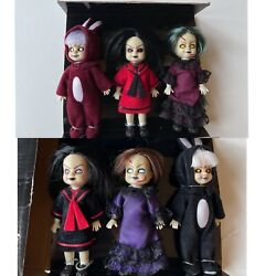 2001 Living Dead Dolls Minis Toy2r - Glow In The Dark Eyes Limited To 999 Rare