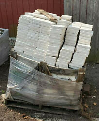 Huge Lot Of Exterior Marble Tile 2 Main Sizes And Other Pieces Over 700 Sq Ft
