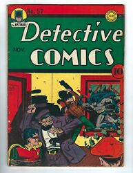 Detective Comics 57 - Batman And Robin In Twenty-four Hours To Live