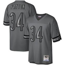 Chicago Bears Walter Payton Mitchell Ness 1985 Retired Metal Nfl Legacy Jersey