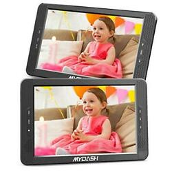 10.1 Dual Car Dvd Player Headrest Kids Cd Dvd Player With Built-in 5 Hrs