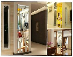 3D Mirror Tree Wall Sticker Removable DIY Art Decal New Home Decor Mural Acrylic