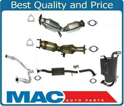 Full Exhaust System Left Right Converters Y Pipe Muffler For Infiniti Fx35 03-04