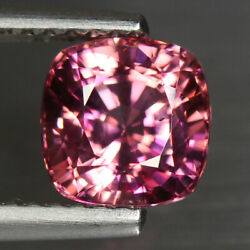 1.9 Cts Best Cushion Unheated Srilanka 100 Natural Pink Spinel Loose Gemstone