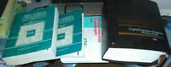 1991 Ford Truck F150 250 350 Gas Diesel 2/4wd Factory Service Manuals 6 Bronco