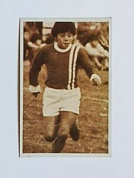 Diego Maradona Kid Extremely Rare Card First Matches 1 Argentinos Juniors 1984