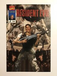 Resident Evil 1 Bill Sienkiewicz Cover Rare Book Complete With Coupons
