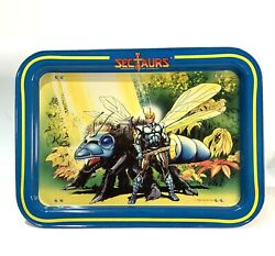 Sectaurs Warriors Of Symbion 1984 Vintage Action Figure Dinner Lunch Tray