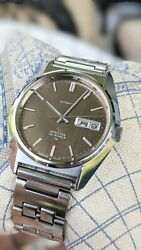 Seiko Lm Special 23j 5216-8020 Brown Linen Dial Automatic