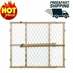 Diamond Mesh Gate Sturdy Security Child Safety Baby Gates Home New