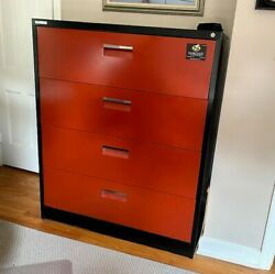 4 Drawer Metal File Cabinet , 42x50x19, Very Good Condition, Legal Or Reg.