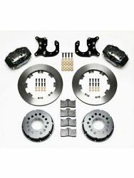 Wilwood Disc Brakes Rear Pro Series Solid Rotors 4-piston Calipers Andhellip 140-2115b