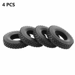 4pcs Rubber Tyres Wheel Tires 20mm For 114 Tamiya Tractor Rc Trucks Car J7