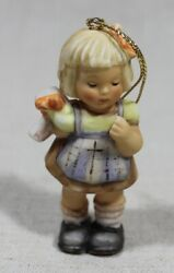 """Goebel Hummel - Size 3"""" Tall Surprise For You Christmas Tree Ornament 1997"""