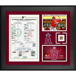 Mlb Shohei Otani Angels Collective Frame With Soiled Capsule For Game Used056/mn