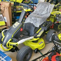 Ryobi 38 Rm480ex 100ah Battery Electric Riding Lawn Mower Used Scratch And Dent