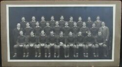 1925 Notre Dame Fighting Irish Large Team Photograph With Knute Rockne 151331