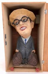 French Papier Mache Passe Boulecarnival Game Harold Lloyd Figure Early 1920s