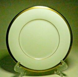 3-gold And Platinum Pattern-noritake 7713-bread And Butter Plates-1985-1993 Japan