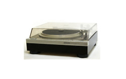 Denon Dp-47f Turntable Direct Drive Turntable Vintage Tested Brown From Japan