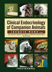 Clinical Endocrinology Of Companion Animals By Rand, Jacquie Paperback