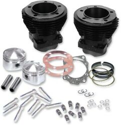 Sandamps Cycle - 91-9001 - Cylinder Kit With Forged Pistons Harley-davidson 1200