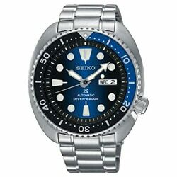 Seiko Watch Prospex Srpc25k1 Menand039s Silver Blue Analog Round Face 3rd Divers