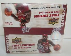 2009-10 Upper Deck First Edition Basketball Sealed Box Curry Rc Year Sx159