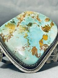 One Of The Best Museum Vintage Royston Turquoise Sterling Silver Bracelet