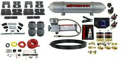 Air Tow Assist Kit W/compressor Tank And Controls For 1999-06 Silverado 1500 Truck
