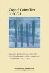 Bloomsbury Professional Capital Gains Tax 2020/21, Paperback By Kimber, Jacqu...