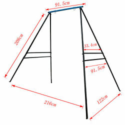 Metal Swing Frame Heavy Duty Swing Stand Hammock A-frame Chair Yoga Stand
