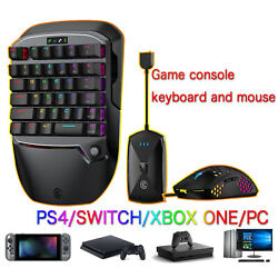 For Xbox/ps4/switch/windows Pc Game Keyboardandmouse Adapt Bluetooth Keypad Combo