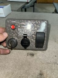 Larson Boat Ignition Switch Panel 2238-3004 With Key And Blower Switch