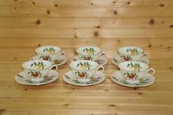 Castleton Ma Lin 6 Cup And Saucer Sets By Ching-chih Yee | Usa Discontinued