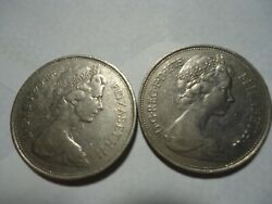 10 New Pence 1968,1975