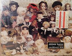 New Springbok Jigsaw Puzzle The Doll Shop Pzl4077 Factory Sealed