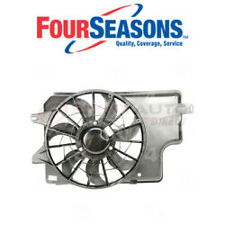 Four Seasons Dual Radiator And Condenser Fan Assembly For 1994-1996 Ford Yk