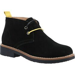 Hush Puppies Womens Marie Ankle Boots Black