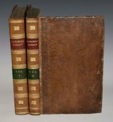 Hutchins History And Antiquities Of The County Of Dorset 2 V Fine Binding 1774 1st